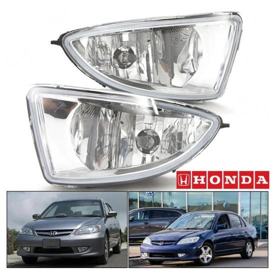 Honda Civic Sis Farı 2004-2006 Vtec-2 Sağ-Sol Takım